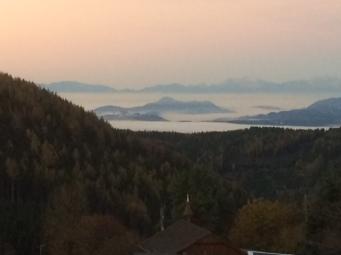 Knappenberg - hoch über dem Nebel