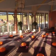 Sonnengrußraum im JUFA Hotel Knappenberg